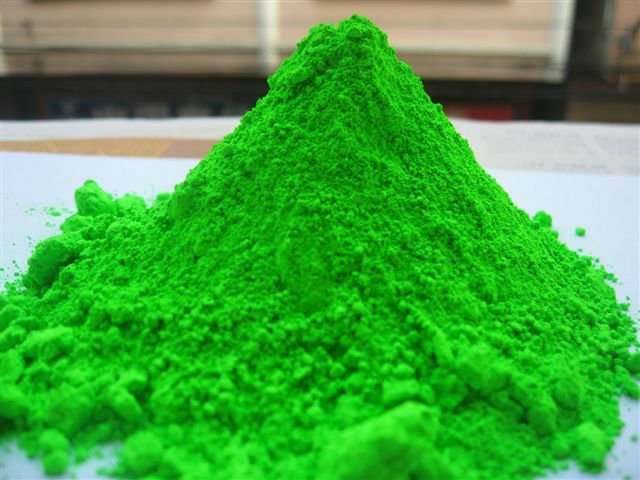 Green Fluorescent Pigment Powder