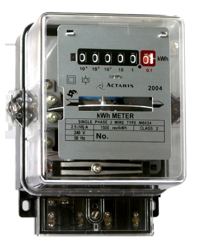 Electrical House Meter