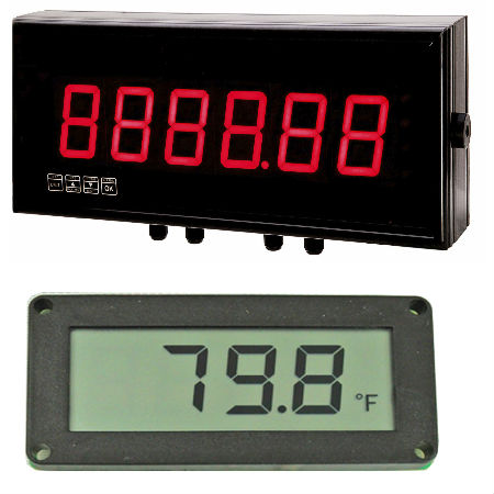 Digital Meter LCD Display