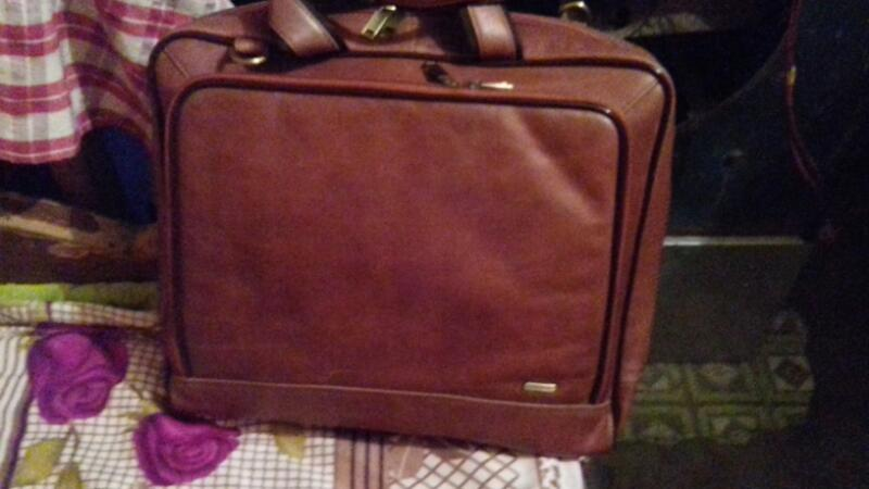 Leather Laptop Bag 02