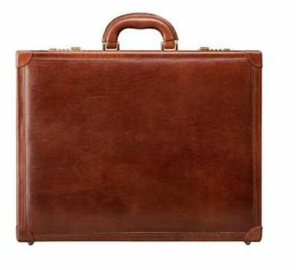 Mens Leather Attache Case 02
