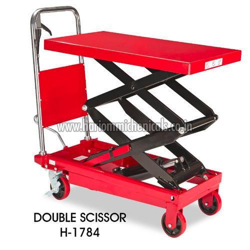 Double Scissor Lift Table