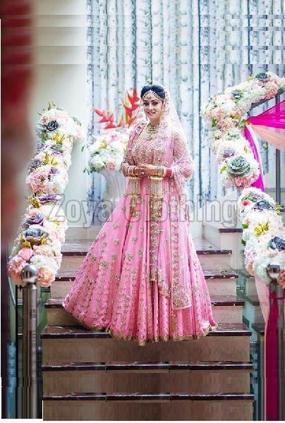 11d38d9e27 Bhagalpuri Khadi Machine Work Bridal Lehenga Choli Manufacturer ...