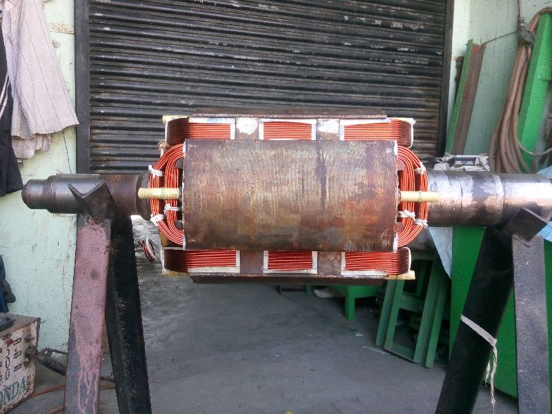 160 KVA Rotor Alternator Rewinding Services