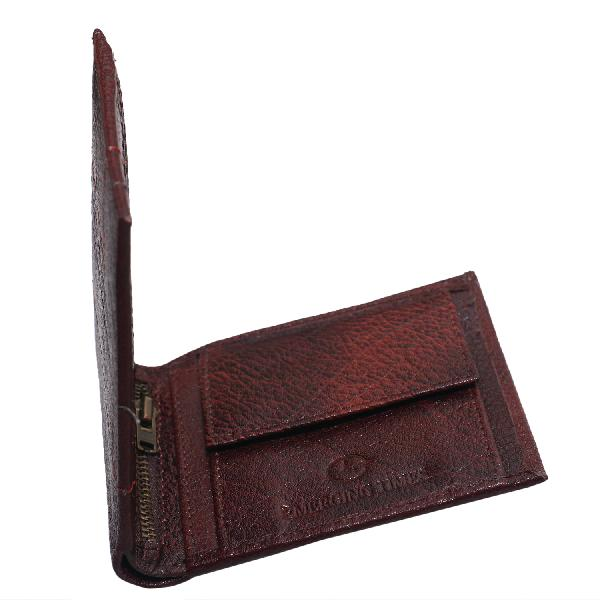 Emerging Time Leather Wallets