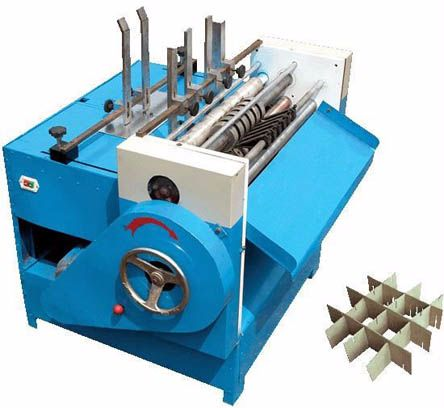 Partition Paper Slotting Machine