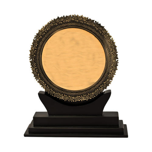 Wooden Gold Plated Memento