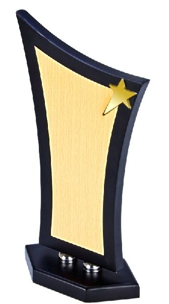 Wooden Rectangular Trophy
