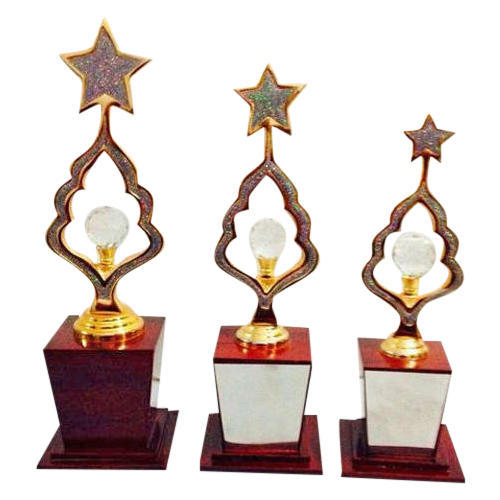 Wooden School Trophy