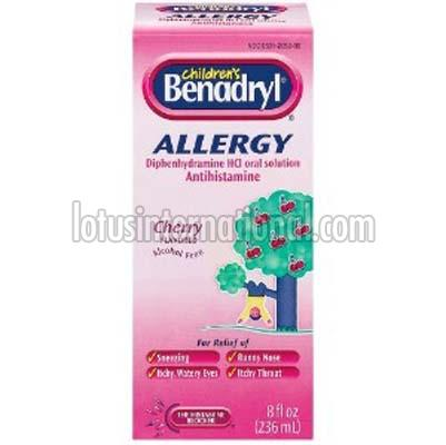 Benadryl Suspension
