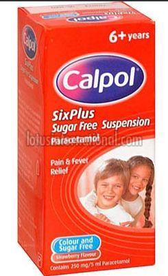 Calpol 250mg Suspension