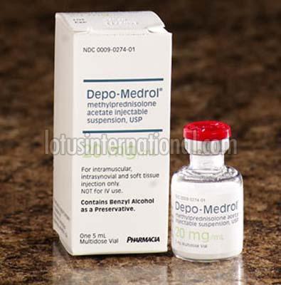 Depo-Medrol Methyl Prednisolone