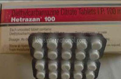 Hetrazan 100 Tablets
