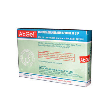 AbGel Absorbable Gelatin Sponge