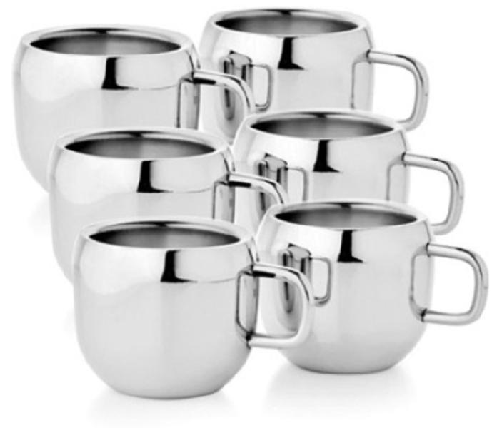Stainless Steel Double Wall Mugs