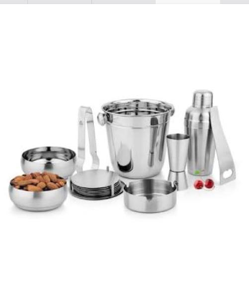 Stainless Steel Bar Set 02