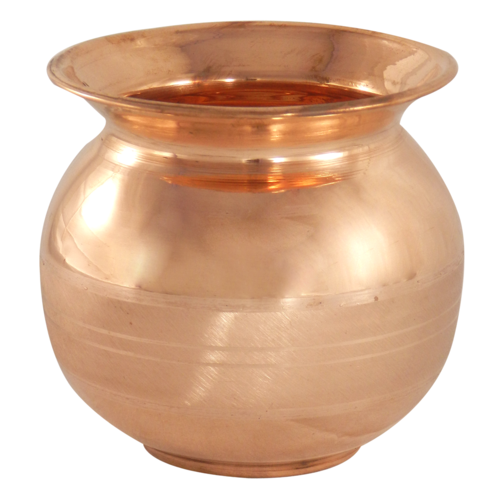 Copper Luxury Pooja Lota
