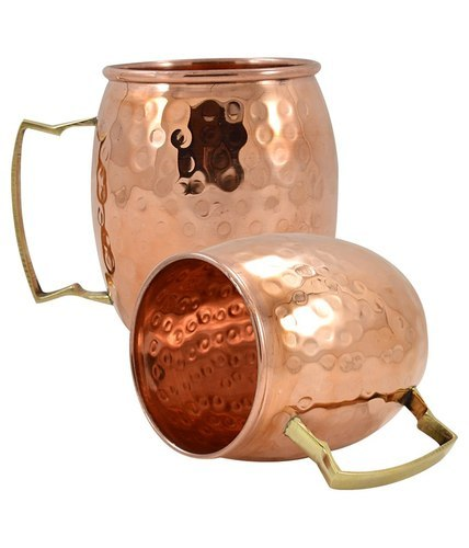 Copper Hammered Moscow Mule Mug
