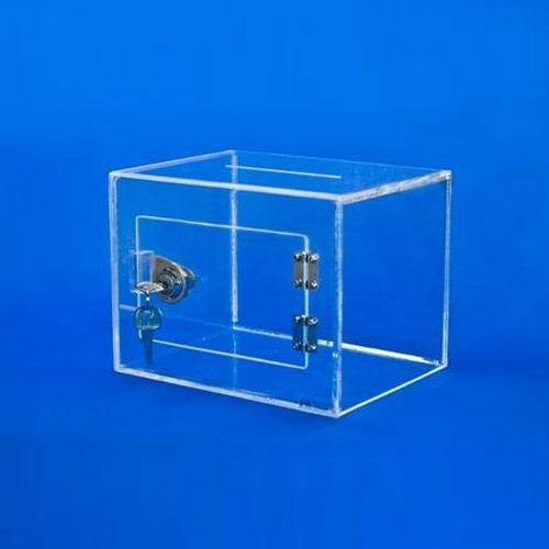Locked Acrylic Box