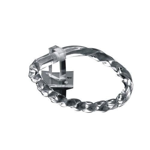 Acrylic Modern Towel Ring