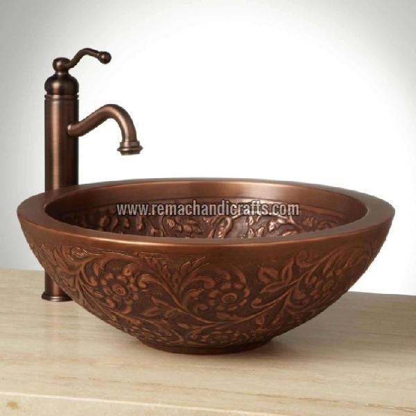1006 Coram Copper Vessel Sink