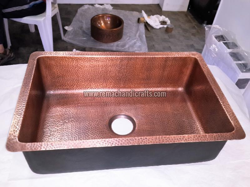 4003 Undermount Copper Kitchen Sink