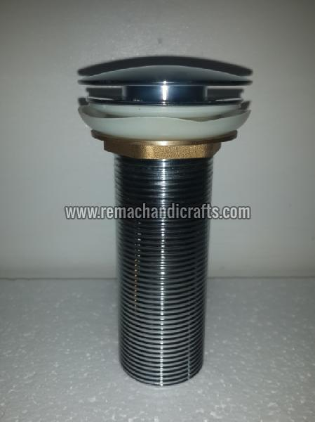 9002 Brass Pop-up Mushroom Type Bathroom Drain