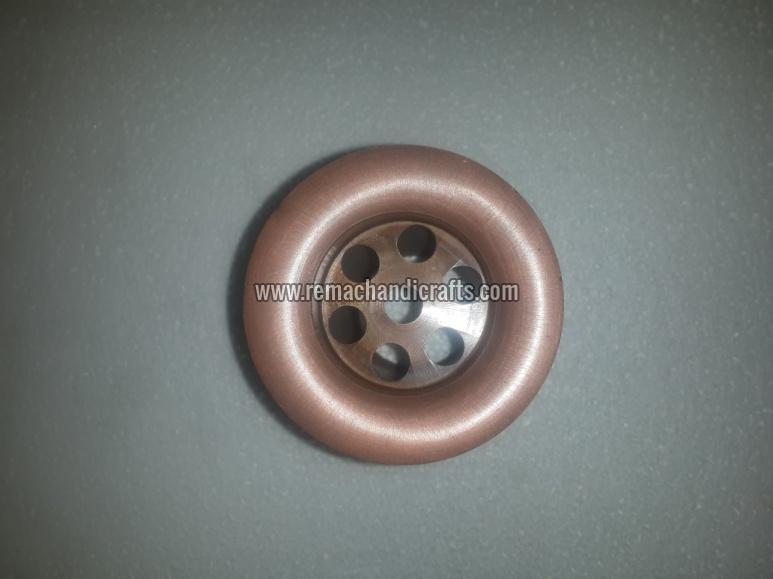 9003 Brass Grid Strainer Type Bathroom Drain