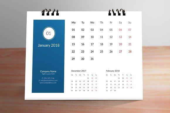 Table Calendar 01