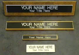 Name Plate Printing Service