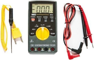 Meco 9A06 Multimeter with Temperature Measurement