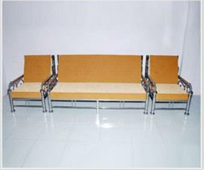 Stainless Steel Sofa Set 04