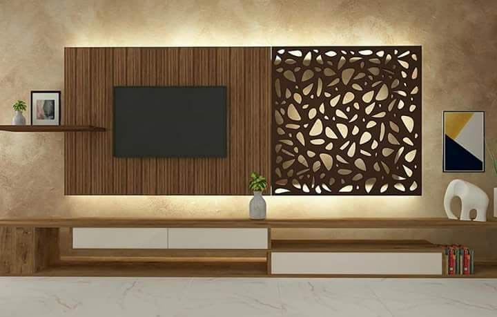 Wooden TV Unit 02