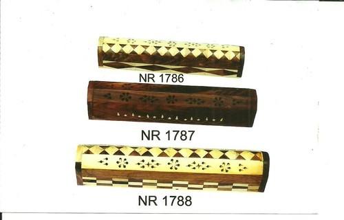 Wooden Incense Burner Box