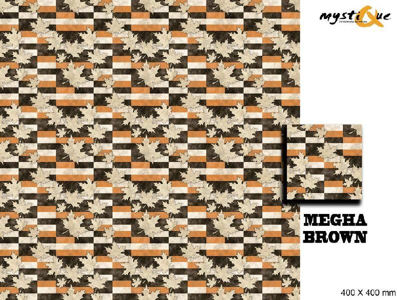 Megha Brown Floor Tiles