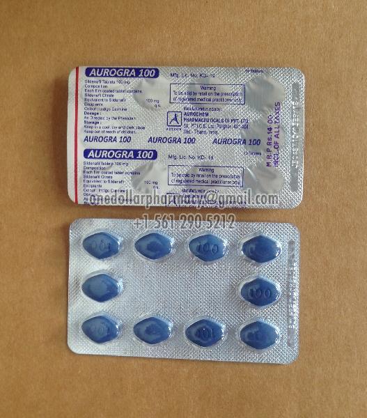 Aurogra 100 Tablets