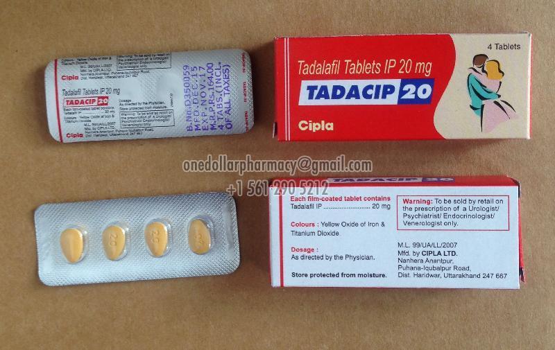 Tadacip-20 Tablets