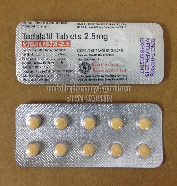 Vidalista 2.5 Tablets