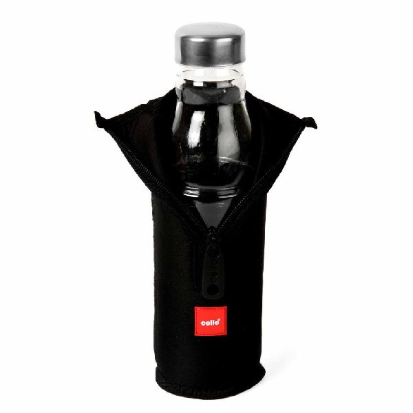 Cello Black Cool One Water Bottle