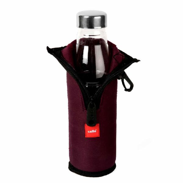 Cello Maroon Cool One Water Bottle