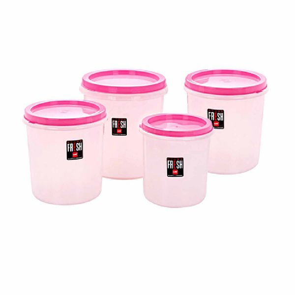 Cello Pink Store Fresh Container Set