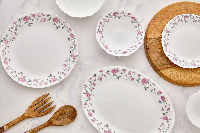 Cello Rose Fantasy Dinner Set