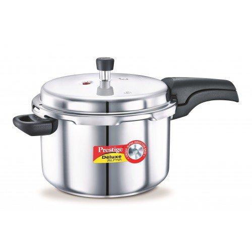 Prestige Deluxe Steel Pressure Cooker