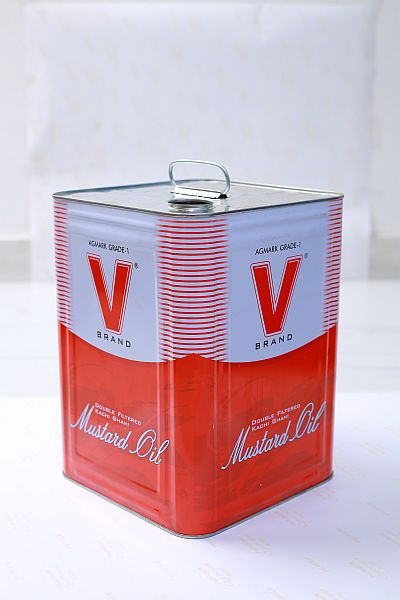 Square Tin Container 04