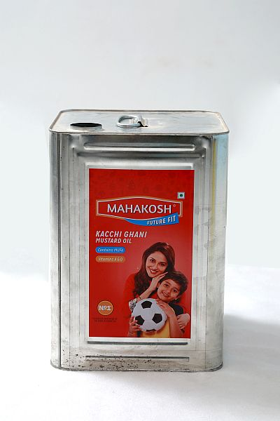 Square Tin Container 05
