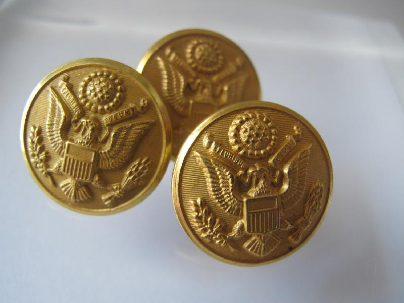 Military Metal Buttons