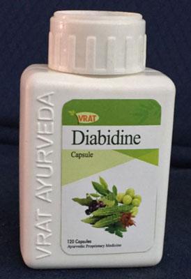 Vrat Ayurveda Diabidine herbal Diabetic capsules