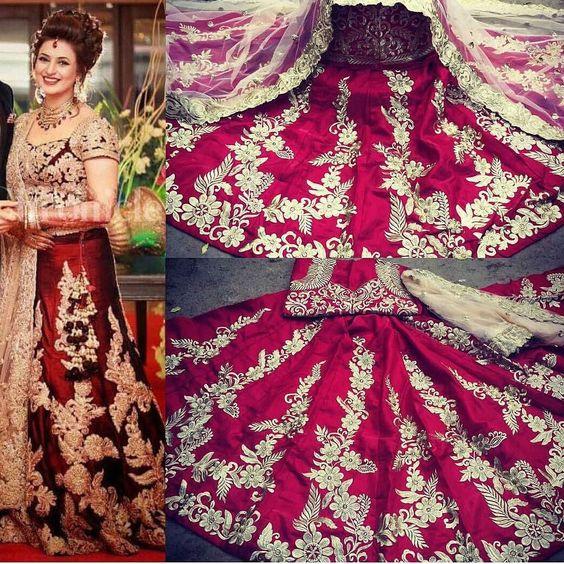 Bridal Lehenga Choli Dress Material