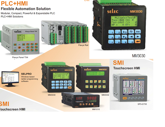 PLC HMI System