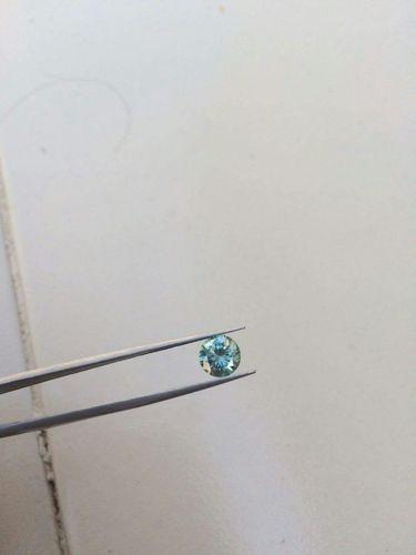 Blue Moissanite Diamond 04